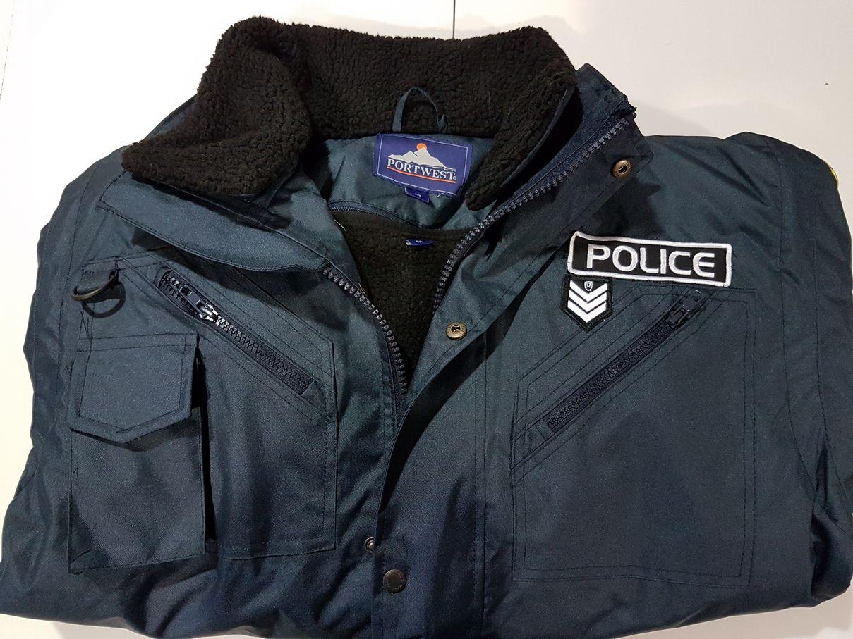 Αδιάβροχο μπουφάν με αποσπώμενες γούνες Portwest F465 και κέντημα ΕΛΑΣ