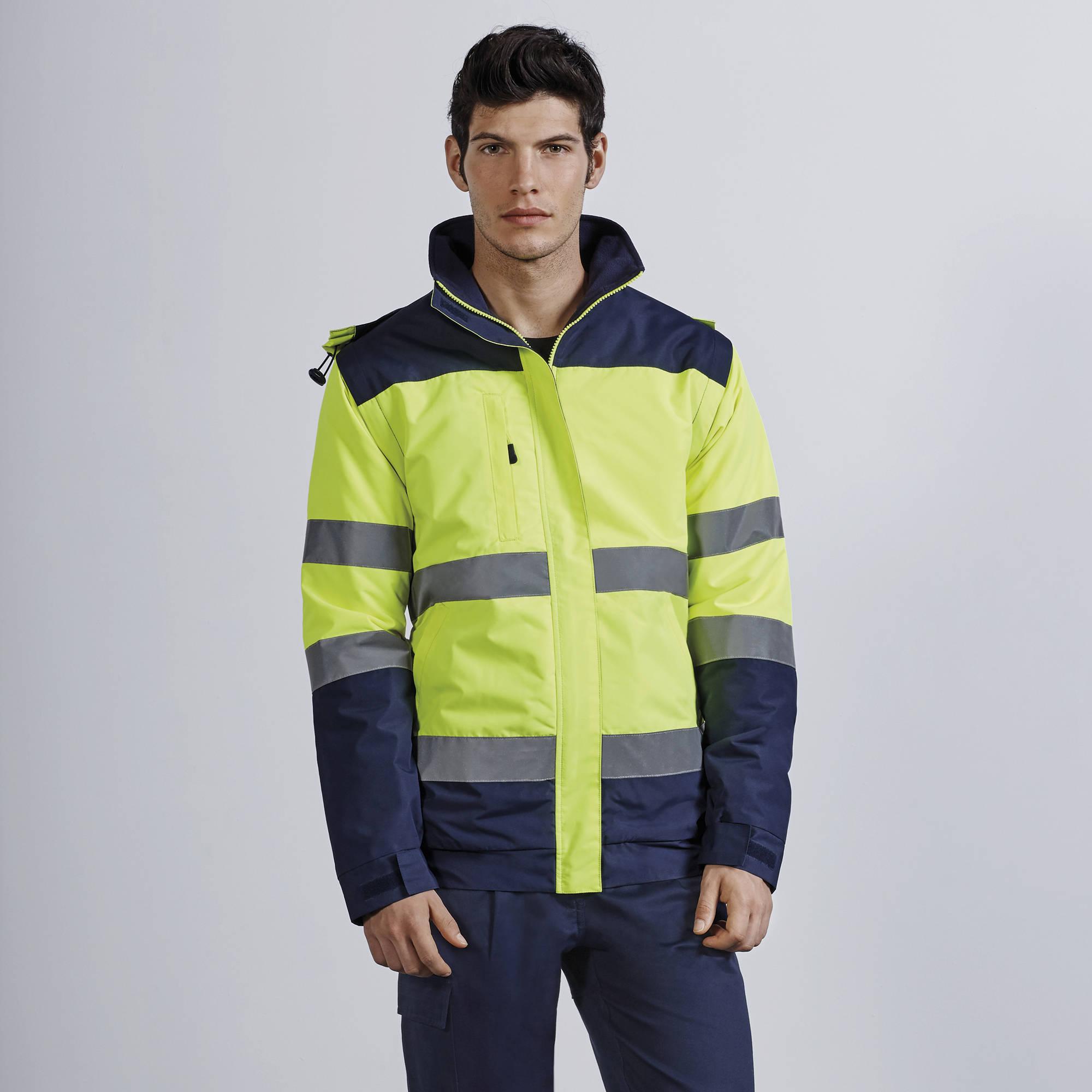 Hi-Vis jacket Epsylon  με κεντημένα ή αποσπώμενα σήματα ΕΛ.ΑΣ.