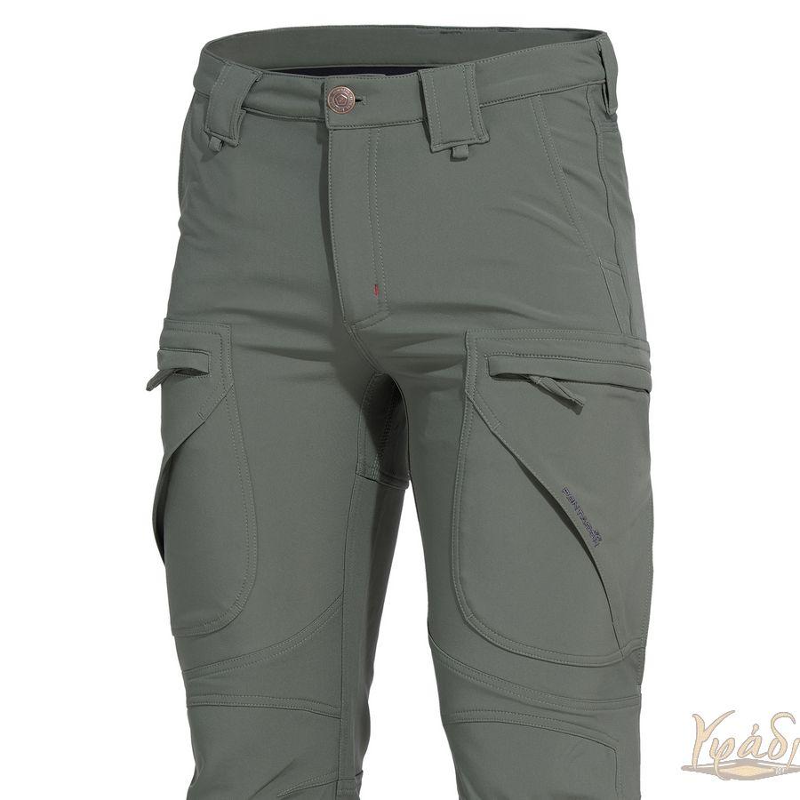 Softshell αδιάβροχο παντελόνι Hydra νέο (Olive-Black) K05015