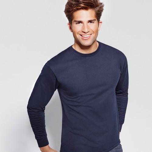 Μπλούζα μακό μακρυμάνικο με κεντήματα ΕΚΑΒ ή Ιατρού