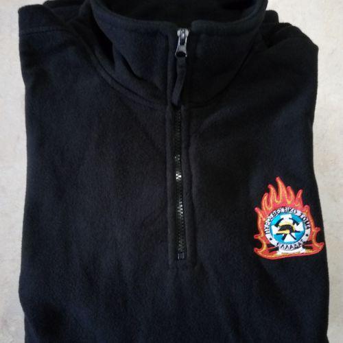 Φλις (Fleece) Ness με κέντημα σημάτων Πυροσβεστικού Σώματος