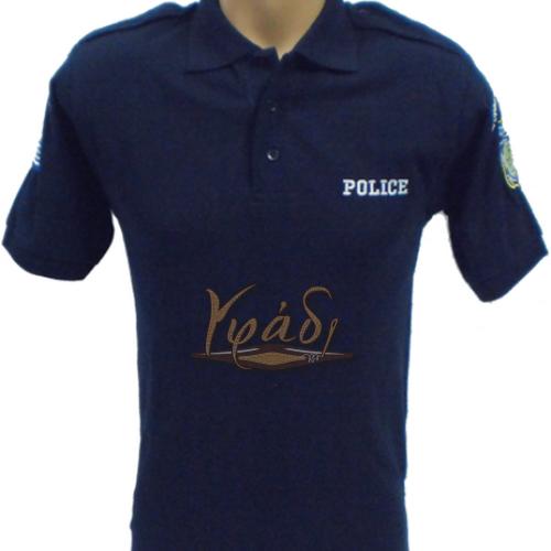 Μπλούζα πικέ στυλ polo Σωφρονιστικών και Εξ.Φρουρών