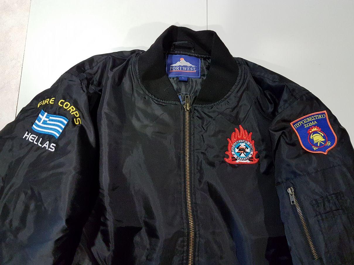 Fly jacket Portwest S535 με κέντημα Πυροσβεστικής