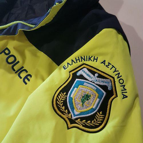 Hi-Vis jacket Epsylon με σήματα ΕΛ.ΑΣ.
