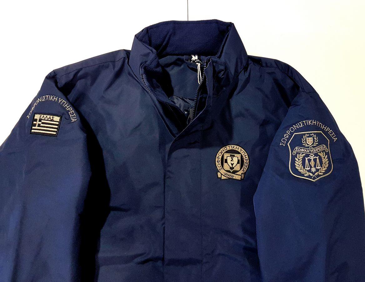 Parka-αδιάβροχο jacket Europa Σωφρονιστικών και ΥΕΦΦΚ
