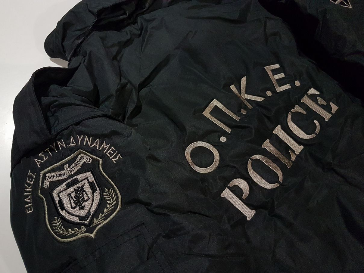 Pilot jacket με κέντημα ΟΠΚΕ