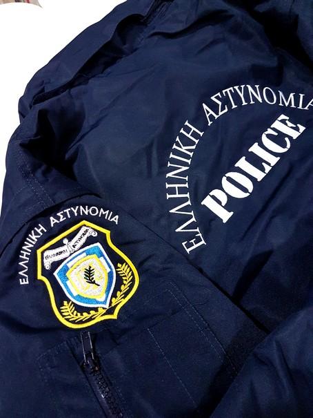 Pilot jacket με κέντημα ΕΛ.ΑΣ.