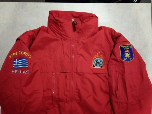Pilot Jacket με επένδυση και κεντήματα Πυροσβεστικού Σώματος