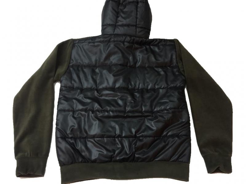 Κυνηγετική ζακέτα fleece με καπιτονέ πλάτη